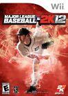 Major League Baseball 2K12 (Nintendo Wii, 2012)