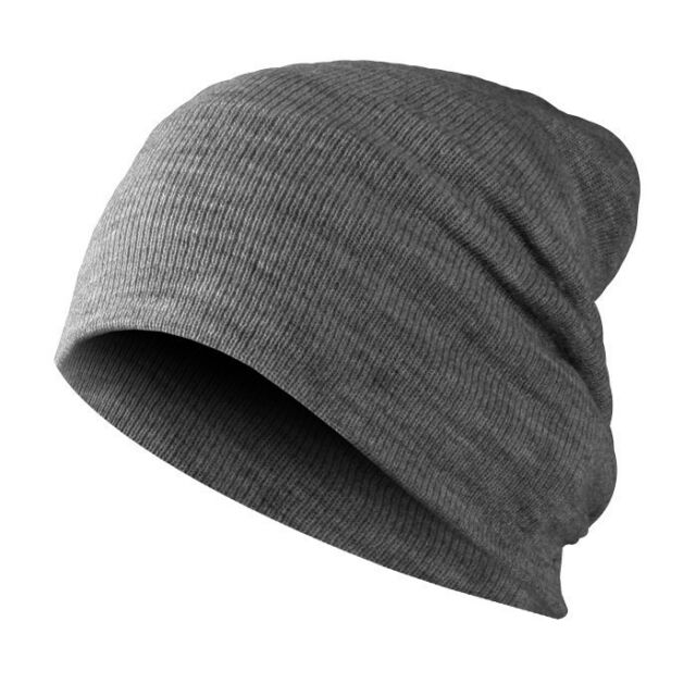 c01a261cec7 Mstrds Basic Flap Beanie Winter Knitted Hat Long Jersey Slouch MD ...
