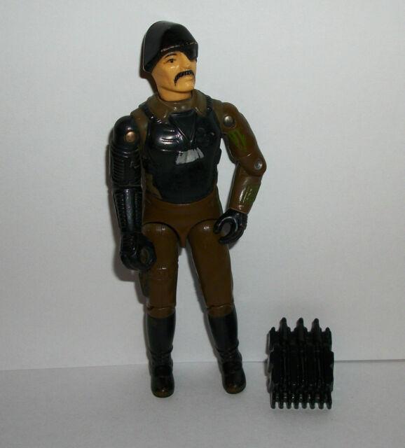 GI Joe Vintage 80's Figure Major Bludd w Weapon/Accessory