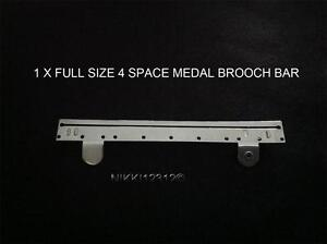 FULL-SIZE-4-SPACE-MEDAL-MOUNTING-BROOCH-BAR-FOR-4-FULL-SIZE-MEDALS