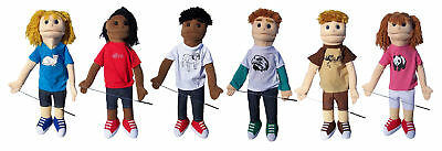 "28"" PRO DUAL ENTRY FULL/HALF BODY PUPPETS STARTER SET"