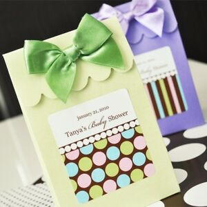 144 Personalized Pattern Wedding Favor Candy Boxes Bags eBay