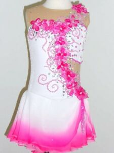 CUSTOM-MADE-TO-FIT-BEAUTIFUL-amp-GORGEOUS-FIGURE-ICE-SKATING-DRESS
