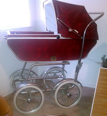 Vintage Baby Carriage / Buggy / Stroller By Wonda Chair Full Size Complete  Set