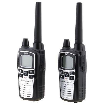 Midland GXT860 42-Channels 2-Way Radio Walkie Talkies Up To 36 Miles (Pair) USED