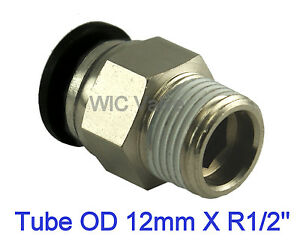 5pcs-Pneumatic-Male-Straight-Connector-Push-In-Fitting-Tube-OD-12mm-X-R-1-2