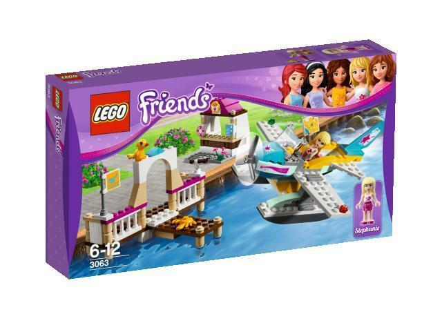 Lego vänner Hekonstblake flygagaing Club 3063 NIB Stephanie plan