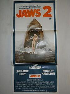 JAWS 2 1978 EXTREMELY RARE MINT AUST ORIGINAL CINEMA ...