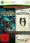 BioShock / Oblivion (Microsoft Xbox 360, 2009, DVD-Box)