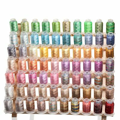 70 large VARIEGATED Embroidery Machine Thread FREE SHIP