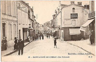 St ANDRÉ de CUBZAC (33) - Rue Nationale
