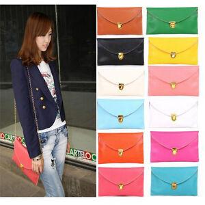 Womens-Envelope-Clutch-Chain-Purse-Lady-Handbag-Tote-Shoulder-Hand-Bag-GL-FB0066