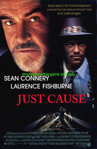 JUST-CAUSE-MOVIE-POSTER-DS-27x40-SEAN-CONNERY-LAURENCE-FISHBURNE