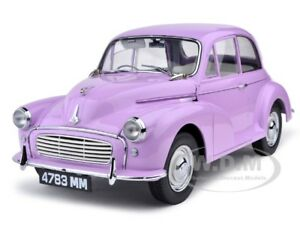 1960 Morris Minor 1000 Saloon Millionth Lilac Pink 1 12 Model Car
