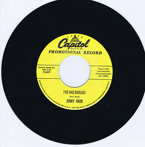 JERRY-REED-WHEN-I-FOUND-YOU-I-039-VE-HAD-ENOUGH-2-GREAT-1950s-ROCKABILLY-JIVERS