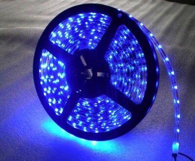 5M Waterproof Marine LED BLUE Flexible Light Strip