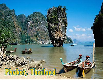 Thailand PHUKET  -  Travel Souvenir Fridge Magnet