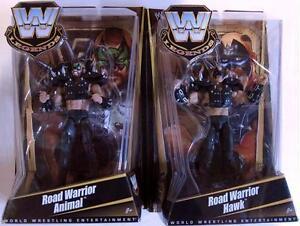 WWE-Legends-Series-1-Set-of-2-Figures-Road-Warrior-Animal-and-Hawk-Mattel-2010