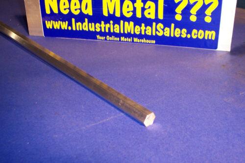 "1//2/"" x 72/""-Long 6061 T6 Aluminum Hexagon Bar -/>.500/"" 6061 T6 Aluminum Hex"