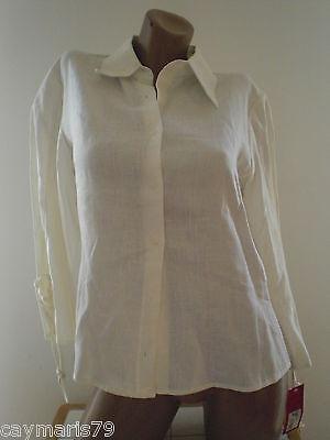 ARTICULO NUEVO bonita CHAQUETA LINO mujer Talla 42 jacket woman