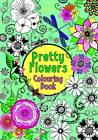 Pretty Flowers Colouring Book by Hannah Davies (Paperback, 2012)