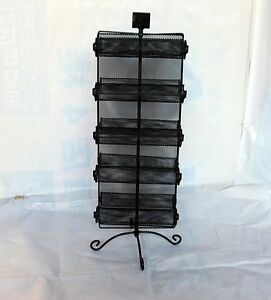 1X-Black-Double-Sided-10-layer-Wire-Bracelet-Band-Display-Rack