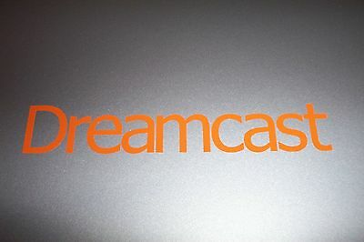Dreamcast Logo Vinyl Decal Sticker ORANGE