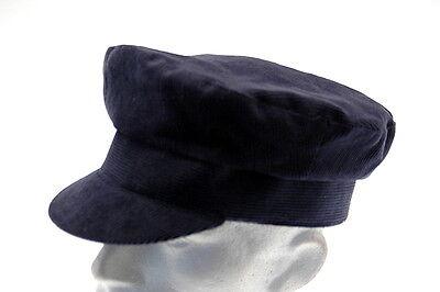 Bretton 100% COTTON Corduroy FLAT CAP Mens Breton baker Boy Hat XL L M S