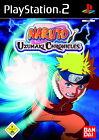 Naruto: Uzumaki Chronicles (Sony PlayStation 2, 2007, DVD-Box)