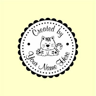 Personalized Custom Handle Mounted Rubber Stamp Returned Address Wedding C58