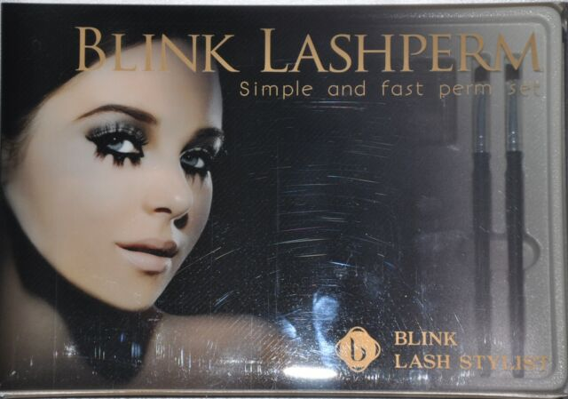 Blink Eyelash Perm Kit. Lashperm set simple easy w/ DVD