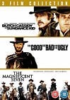 Butch Cassidy And The Sundance Kid / The Good The Bad And The Ugly / The Magnificent 7 (DVD, 2011)