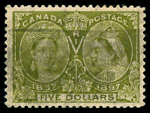 momen-Canada-Stamps-Jubilee-65-Used-VF