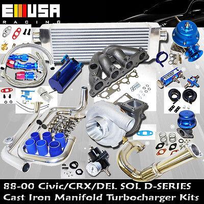 96-00 Honda Civic DX/LX EX HX Precision 5431 Turbo KitsD SeriesCX 1.5L SOHC I-4