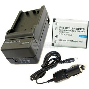 Battery-Charger-for-Casio-NP-80-NP-82-NP80-NP82-EX-Z2