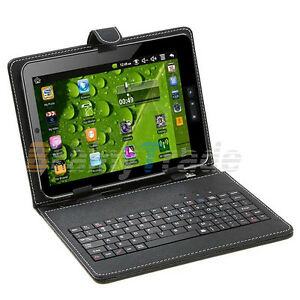 NEW-4G-7-034-Google-Android-4-0-Touchscreen-Tablet-WiFi-3G-Leather-case-amp-Keyboard