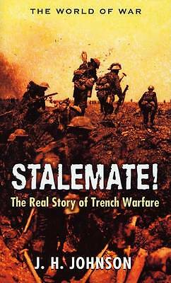"""""""AS NEW"""" Stalemate!: Great Trench Warfare Battles (World of War (Rigel)), Johnso"""