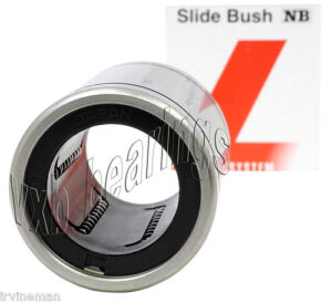 NB-Systems-SM5-Bore-5mm-Slide-Bush-Ball-Bushings-Linear-Motion-Bearings-Japan