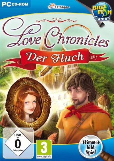 Love Chronicles: Der Fluch - BigFish Wimmelbild PC Spiel