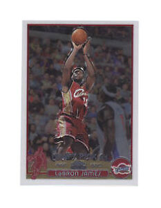2003 2004 Topps Chrome Lebron James Cleveland Cavaliers 111 Basketball Card
