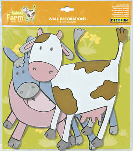 Animal-Farm-Foam-Wall-Stickers