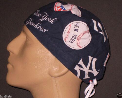 NY/ NEW YORK YANKEES SCRUB HAT (B) RARE! FREE CUSTOM SIZING!