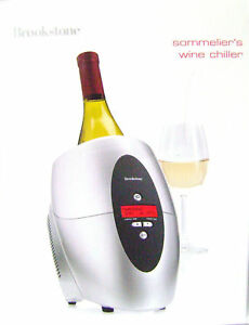 Brookstone-Sommelier-039-s-Wine-Chiller-Brand-New