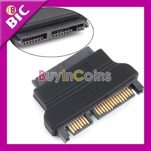 SATA 22 M to Slimline Mini SATA 13P F Adapter Converter