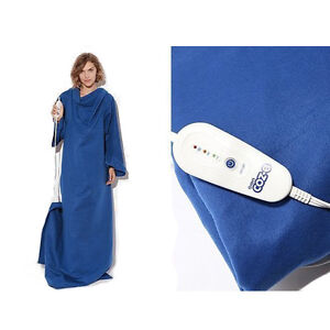 Set-of-2-Ion-Coz-E-Heated-Blanket-with-Sleeves-The-First-Electric-Robe