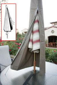 Patio-Umbrella-Cover-fit-6ft-to-11ft-umbrellas-W-Zipper-Outdoor-Umbrella-Cover
