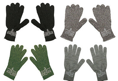 Genuine GI Glove Liners Wool/Nylon Blend Made in USA GSA Compliant