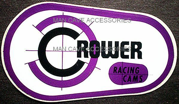 Nostalgic CROWER Racing Cams Vinyl Decal Sticker