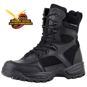 MENS-BLACK-POLICE-DUTY-TACTICAL-SWAT-COMBAT-MILITARY-BOOT-T3180