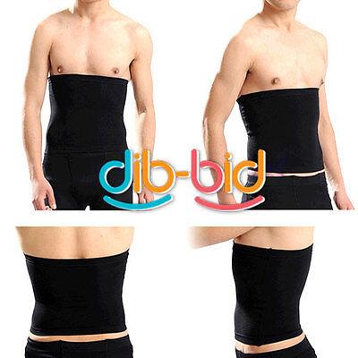 Male Men Black Slimming Slim Lift Body Shaper Tummy Belt Underwear Waist Support